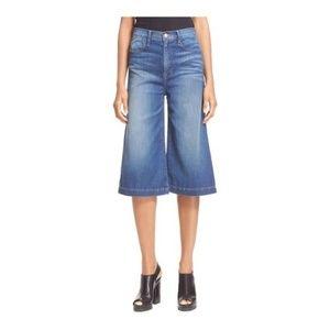 FRAME DENIM Le Gaucho Crop Wide Leg Jean